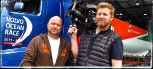 På jobb i Bretagne för TidningsKompaniet med Calle Bäfving, Pixeltouch. Kund: Volvo Lastvagnar
