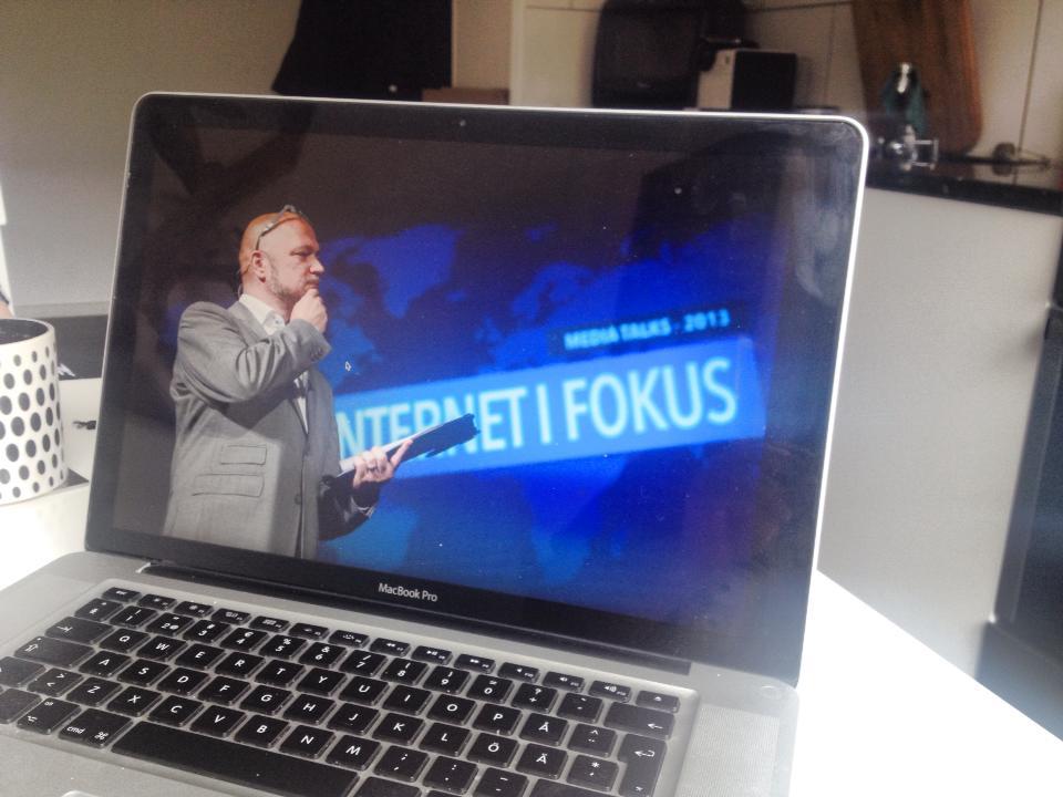 Teddy Landén, moderator #IIF2015