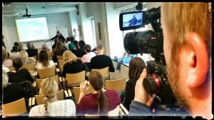 Colibris producent Christian Svanlund fotograferade själv intervjuer och konferensbilder.