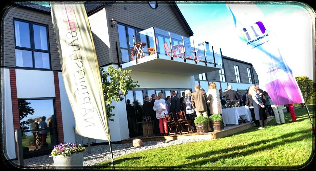 Ingrid och Peter Svensson på fantastiska Hotell Mossbylund stod värdar för Näringslivsfesten  2014.  De utsågs dessutom av Skurups kommun till Årets ambassadörer.