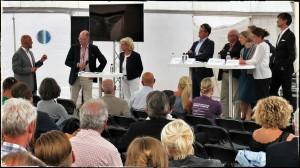 Teddy Landén modererar bostadsdebatt för Region Skåne 2014