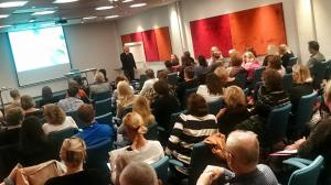 Andreas Liljenrud föreläser om jämställdhetsintegrering