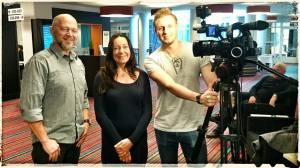 Constrictor Visions Teddy Landén, Ana Maria Deliv från förskoleförvaltningen och fotograf Martin Leon Lindstedt, Colibri TV