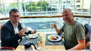 Arbetsfrukost med Thomas P Olsson, HSO Skåne