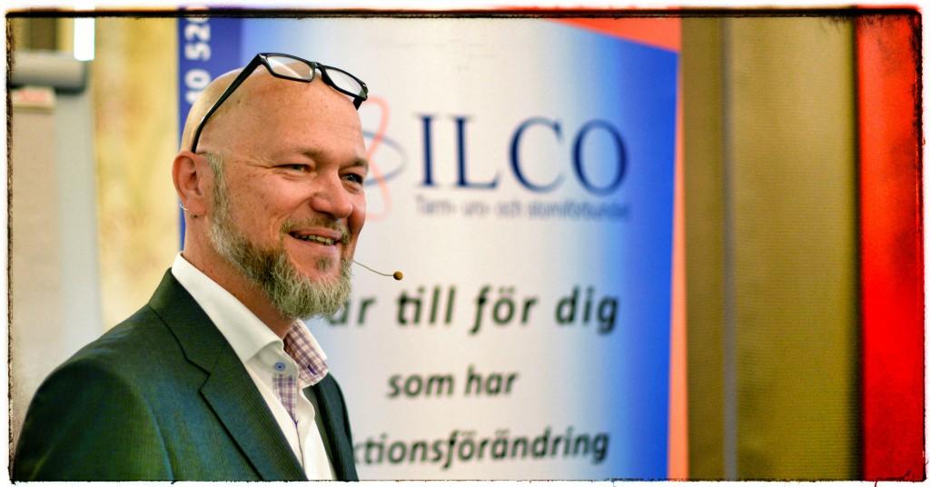 Teddy Landén, moderator på WOD 2015