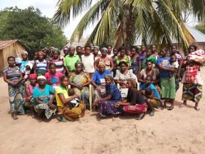 Några av de kvinnor i byarna Adetsav och Hege i Benueregionen som deltar i Devents utbildning.